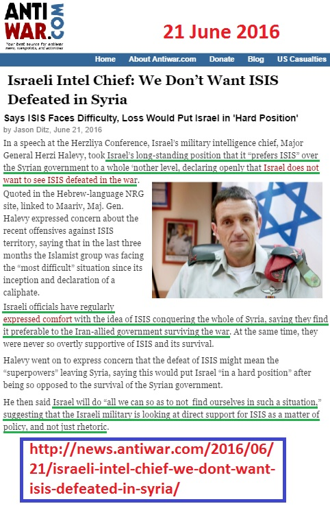 https://news.antiwar.com/2016/06/21/israeli-intel-chief-we-dont-want-isis-defeated-in-syria/