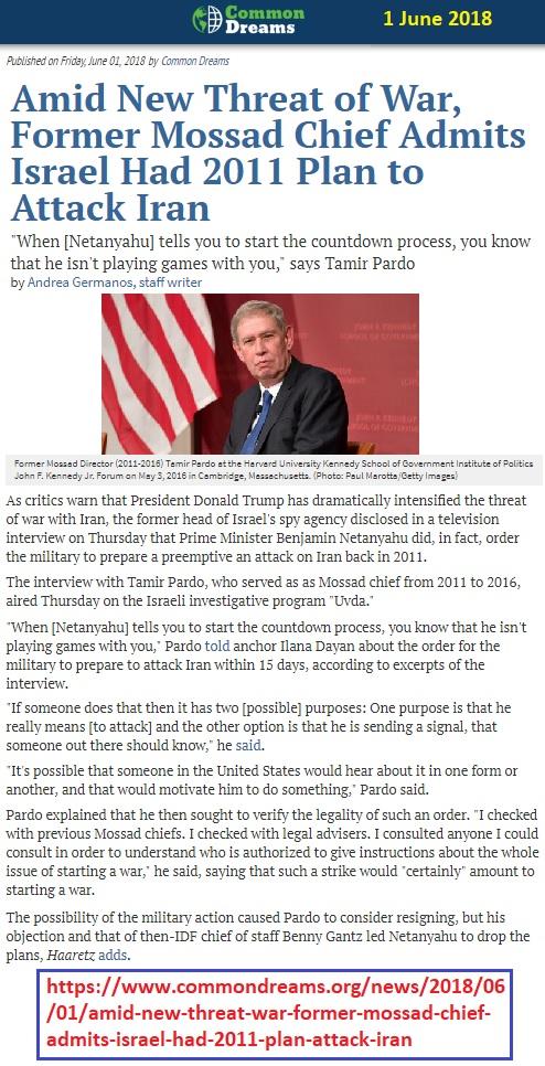 https://www.commondreams.org/news/2018/06/01/amid-new-threat-war-former-mossad-chief-admits-israel-had-2011-plan-attack-iran