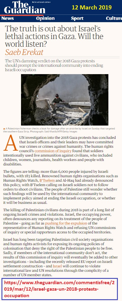 https://www.theguardian.com/commentisfree/2019/mar/12/israel-gaza-un-2018-protests-occupation