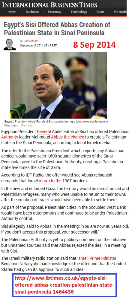 https://www.ibtimes.co.uk/egypts-sisi-offered-abbas-creation-palestinian-state-sinai-peninsula-1464436