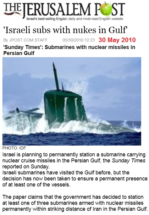 https://www.jpost.com/Iranian-Threat/News/Israeli-subs-with-nukes-in-Gulf