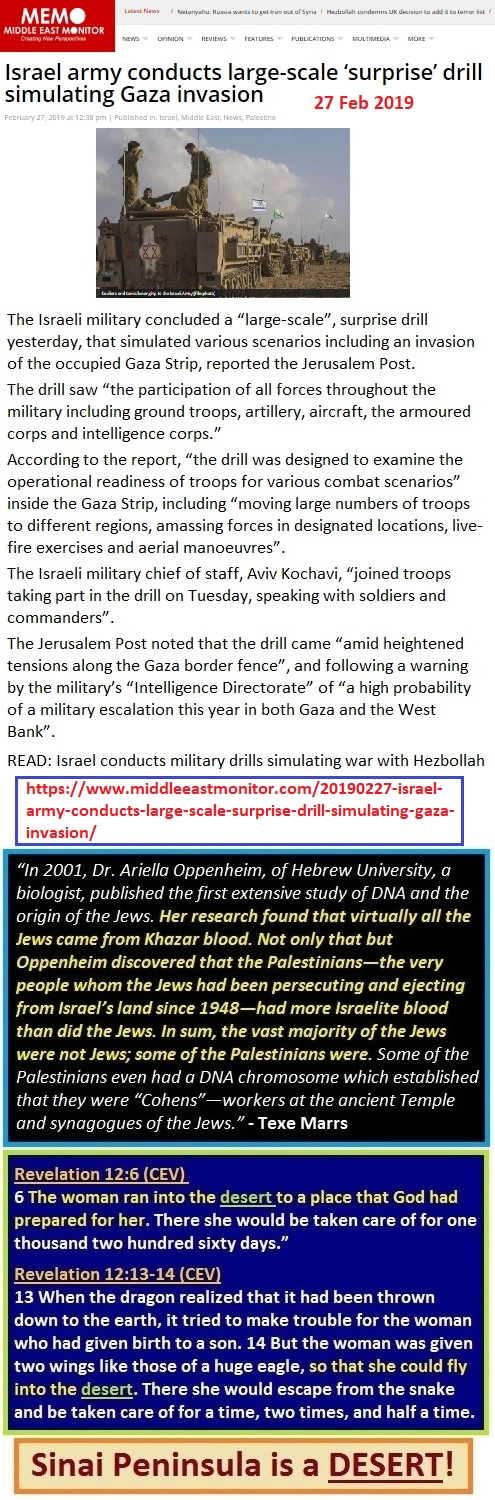 https://www.middleeastmonitor.com/20190227-israel-army-conducts-large-scale-surprise-drill-simulating-gaza-invasion/
