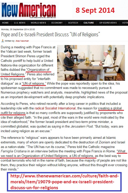 https://www.thenewamerican.com/culture/faith-and-morals/item/19079-pope-and-ex-israeli-president-discuss-un-for-religions