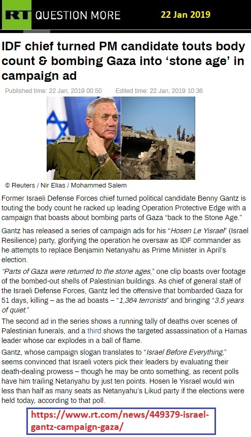 https://www.rt.com/news/449379-israel-gantz-campaign-gaza/