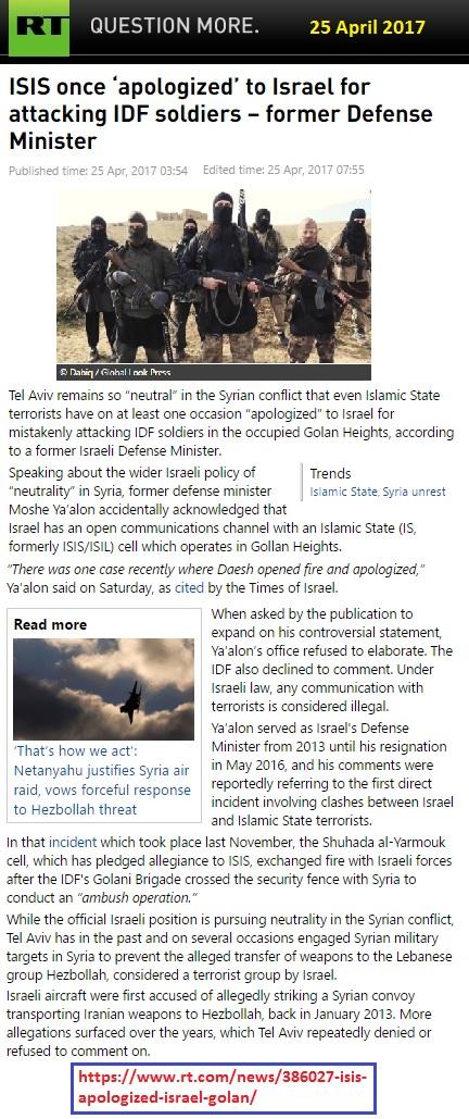 https://www.rt.com/news/386027-isis-apologized-israel-golan/