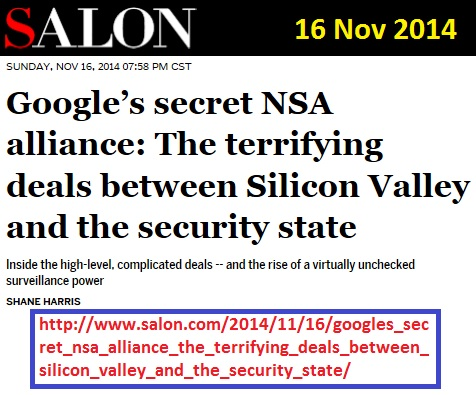 https://www.salon.com/2014/11/16/googles_secret_nsa_alliance_the_terrifying_deals_between_silicon_valley_and_the_security_state/