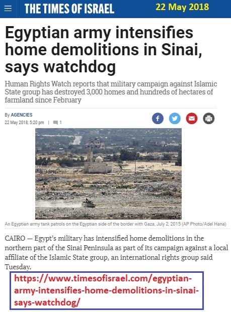 https://www.timesofisrael.com/egyptian-army-intensifies-home-demolitions-in-sinai-says-watchdog/