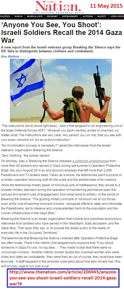 https://www.thenation.com/article/anyone-you-see-you-shoot-israeli-soldiers-recall-2014-gaza-war/