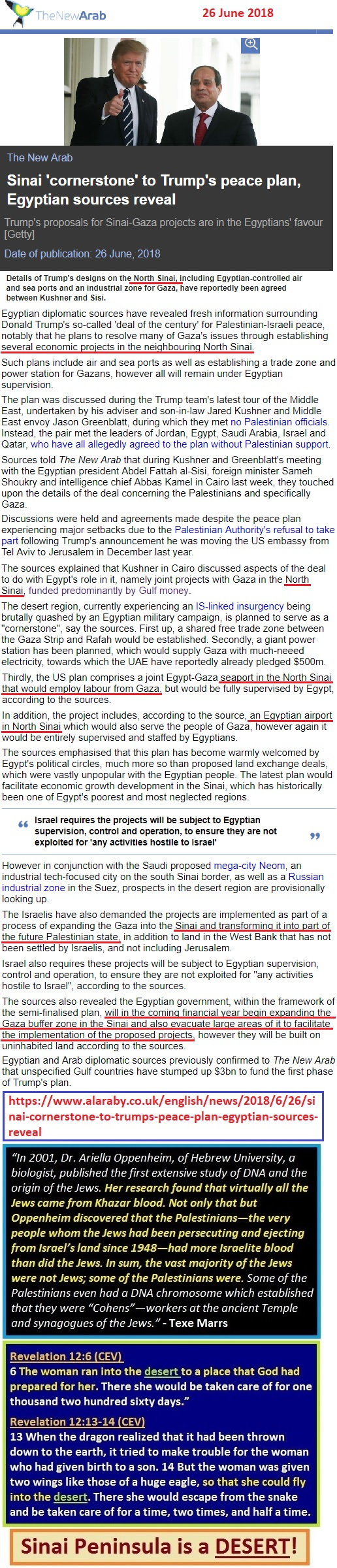 https://www.alaraby.co.uk/english/news/2018/6/26/sinai-cornerstone-to-trumps-peace-plan-egyptian-sources-reveal