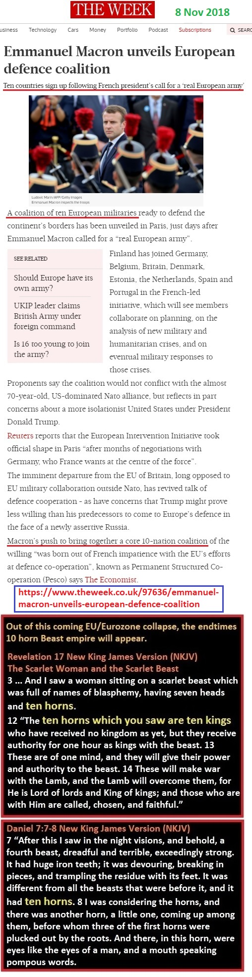 https://www.theweek.co.uk/97636/emmanuel-macron-unveils-european-defence-coalition