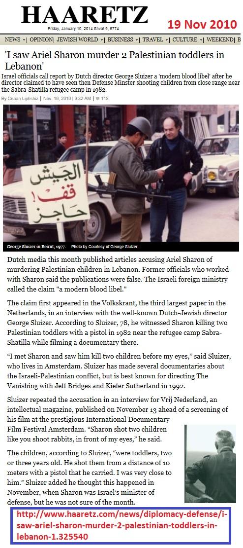 https://www.haaretz.com/sharon-cronies-he-didn-t-murder-babies-1.5141684